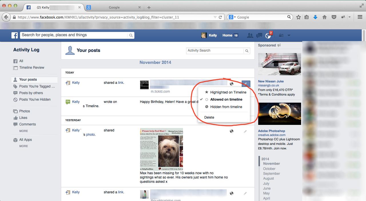 FB-Edit-Activity-Log